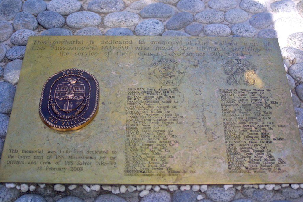 Memorial on Mangejang Island, Ulithi